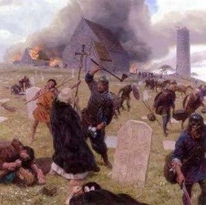 Lindisfarne ataque vikingo